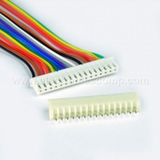 16 Pin RMC - Polarized Header Wire/Cable  - Relimate Connector
