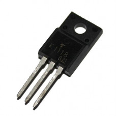 2SK1118 MOSFET - 600V 6A N-Channel Power MOSFET TO-220F Package