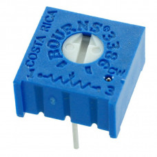 100 Ohm Variable Resistor (3386 Package) - Trimpot Trimmer Potentiometer