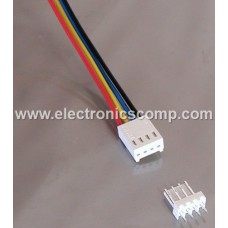 4 Pin Polarized Header Wire/Cable  - Relimate Connector