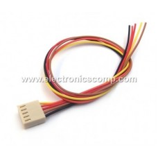 5 Pin Polarized Header Wire/Cable  - Relimate Connector