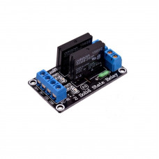 2 Channel 5V SSR G3MB-202P Solid State Relay Module