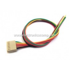 6 Pin Polarized Header Wire/Cable  - Relimate Connector