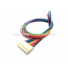 9 Pin Polarized Header Wire/Cable  - Relimate Connector