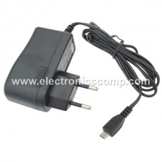 5V 1 Amp DC Adapter with Micro USB Cable