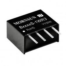 B0505S-1WR3 Mornsun 5V to 5V DC-DC Converter 1W Power Supply Module - Compact SIP Package