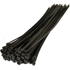 100mm - Cable Tie Pack - Black - 10 Pieces Pack