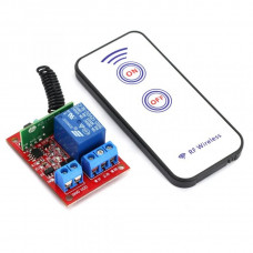 1 Channel 12V RF Wireless Relay Module with Remote Control