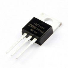 IRF1407 MOSFET - 75V 130A N-Channel HEXFET Power MOSFET TO-220 Package