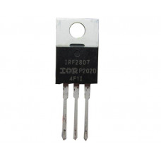 IRF2807 MOSFET - 75V 82A N-Channel HEXFET Power MOSFET TO-220 Package