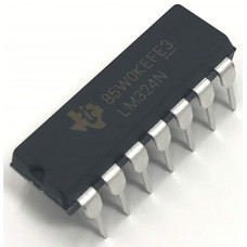 LM324 Low Power Quad Op-Amp IC DIP-14 Package