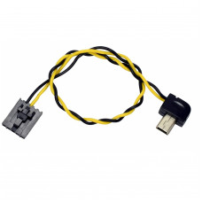 Mini USB (90 Degree Connector) to FPV AV Output Cable for GoPro Hero 3