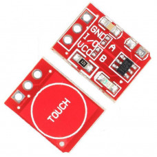 TTP223 1-Channel Capacitive Touch Sensor Module Red Color